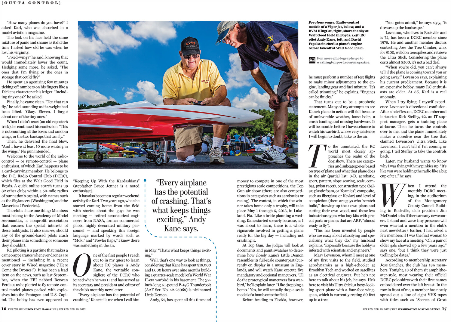 RC Airplanes - Florida Editorial Photographer